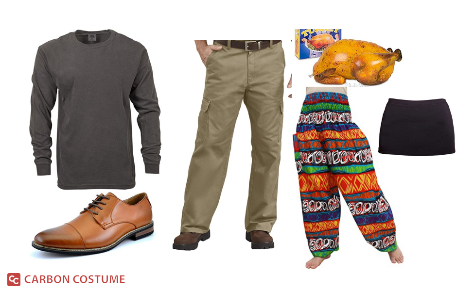 """Thanksgiving Pants"" Joey Tribbiani from Friends Costume"
