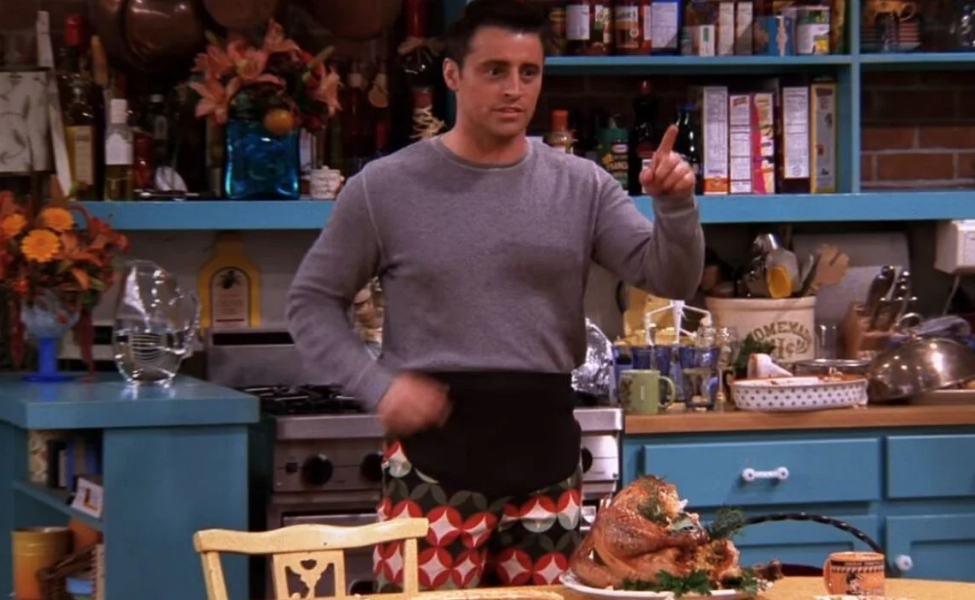 """Thanksgiving Pants"" Joey Tribbiani from Friends"