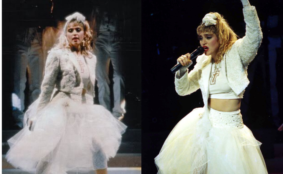 Madonna from The Virgin Tour