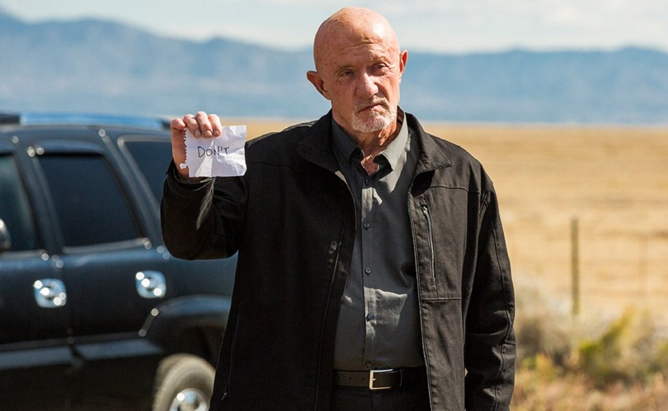 Mike Ehrmantraut from Breaking Bad
