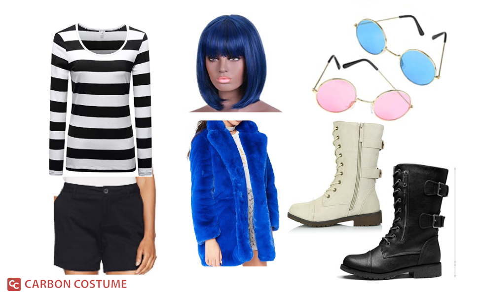 Noodle from Gorillaz Costume