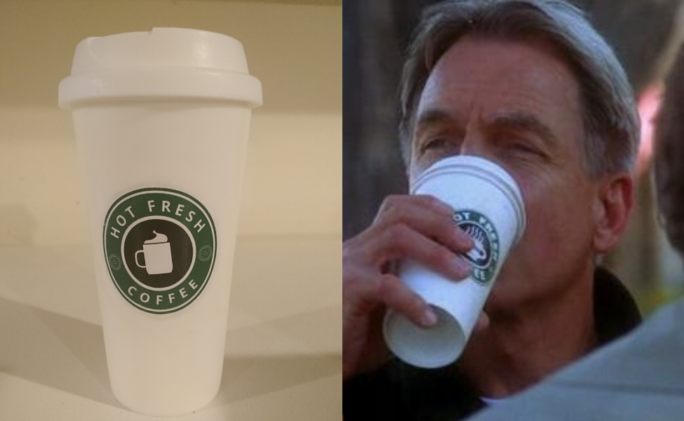 Make Your Own: Gibbs' Coffee Cup from NCIS