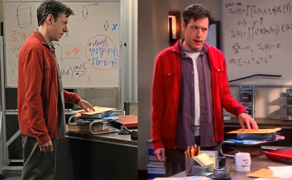 Barry Kripke from The Big Bang Theory