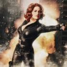 Black Widow Cosplay Photoshopped