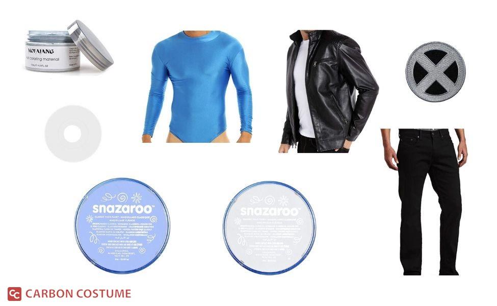 Iceman Costume