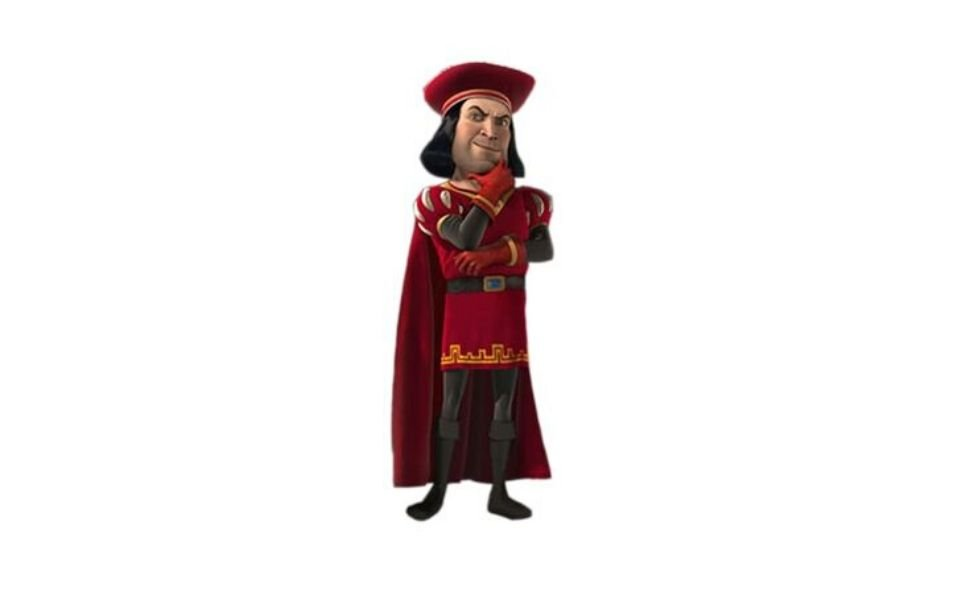 Lord Farquaad from Shrek