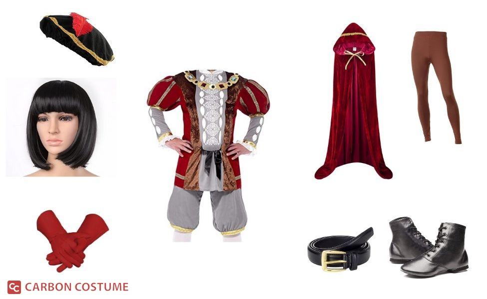 Lord Farquaad from Shrek Costume