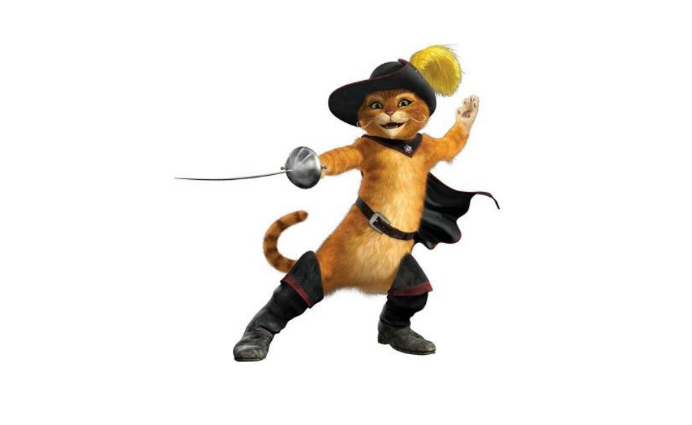 Puss In Boots from Shrek
