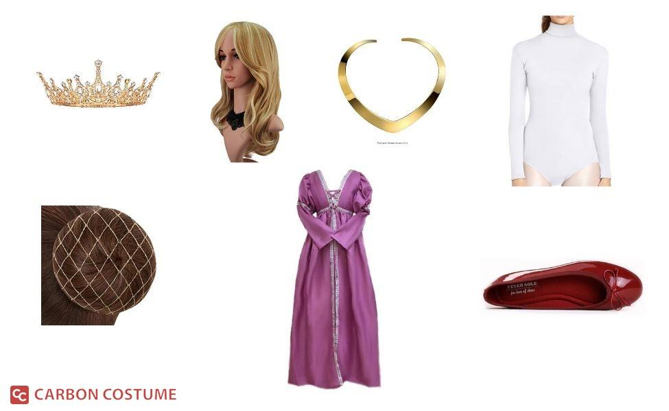 Queen Lillian from Shrek Costume