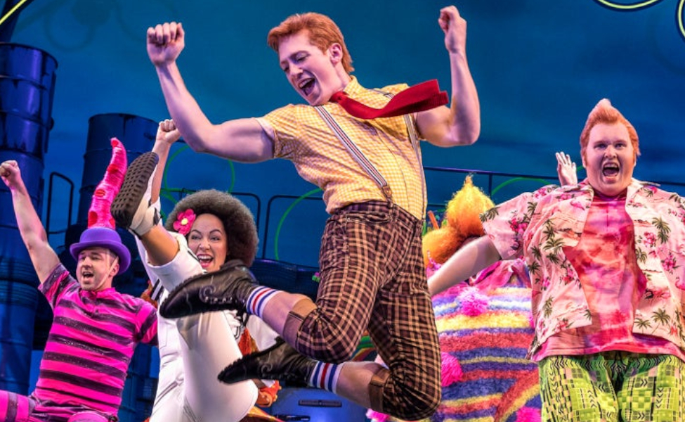 SpongeBob SquarePants from The Broadway Musical