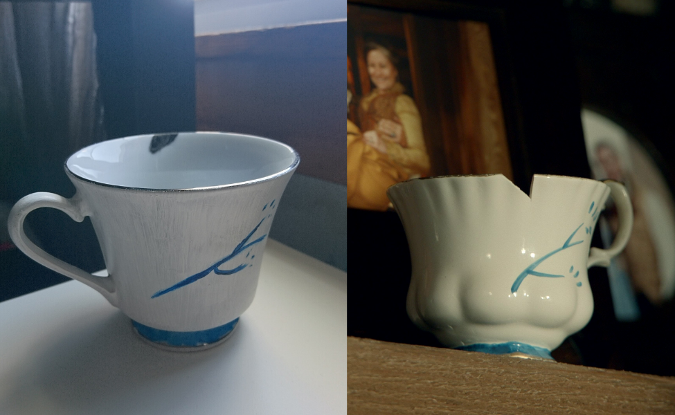 Make Your Own: Belle's Chipped Cup from Once Upon a Time