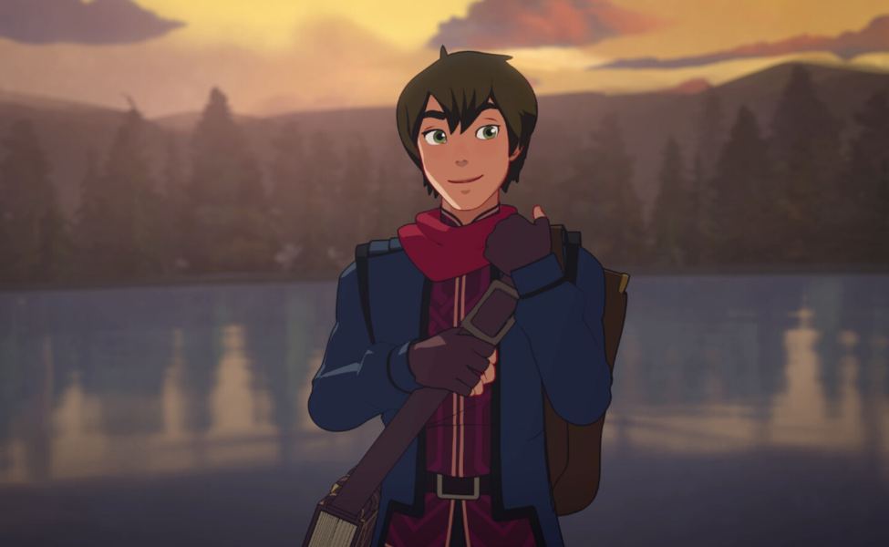 Callum from The Dragon Prince
