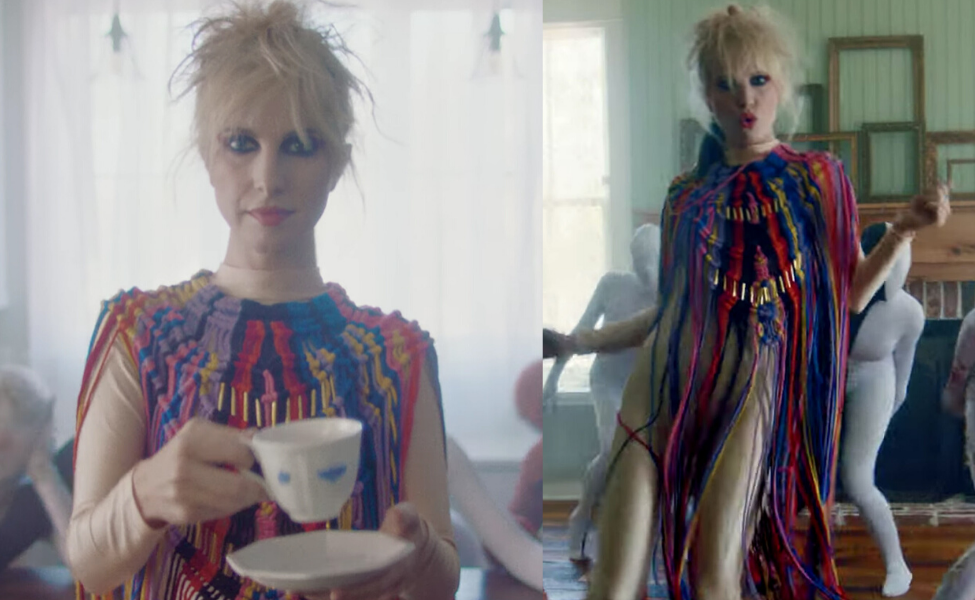 "Hayley Williams in the ""Cinnamon"" Music Video"