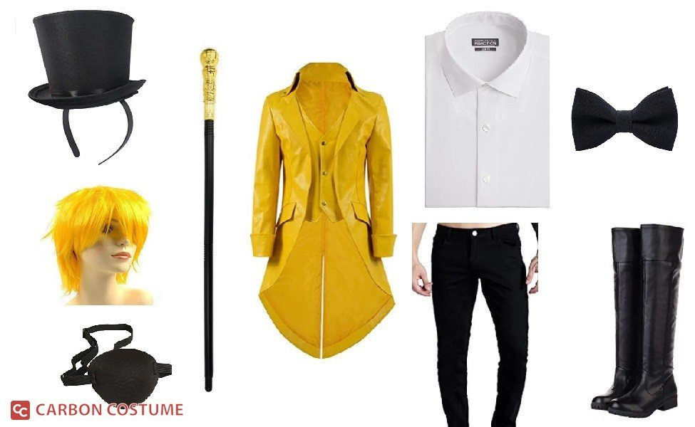 Human Bill Cipher from Gravity Falls Costume