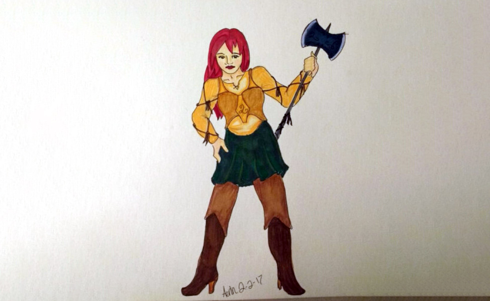 Lyra Jones from Cliche