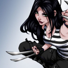 X-23 from the X-Men Comics