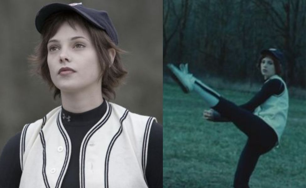 Alice Cullen in the Baseball Scene from Twilight
