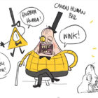 Canon Human Bill Cipher from Gravity Falls
