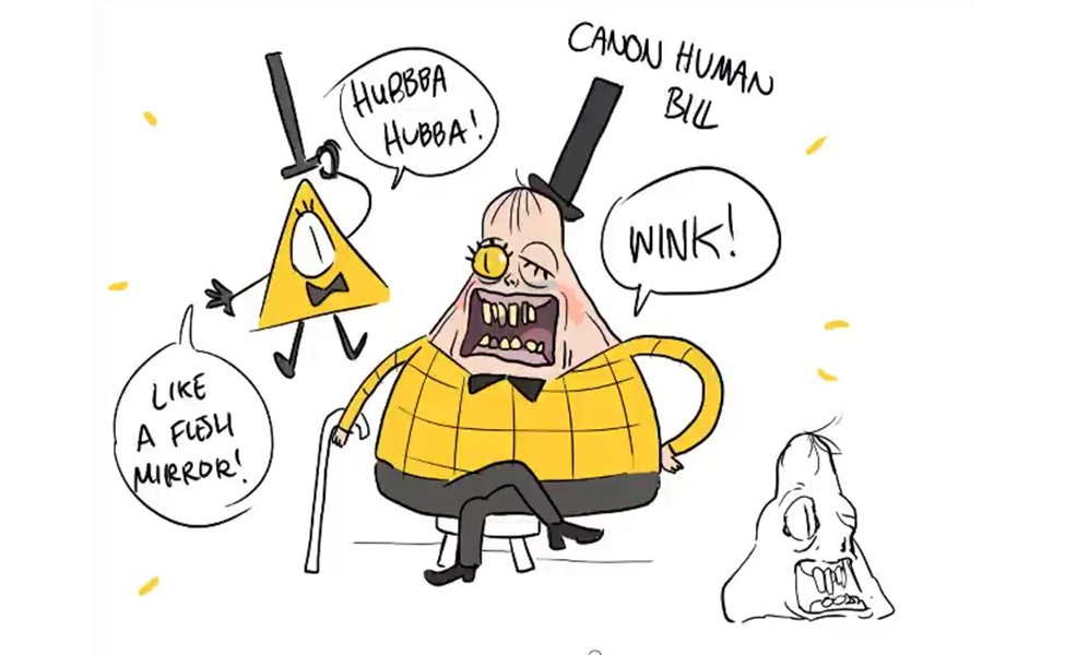 Canon Human Bill Cipher