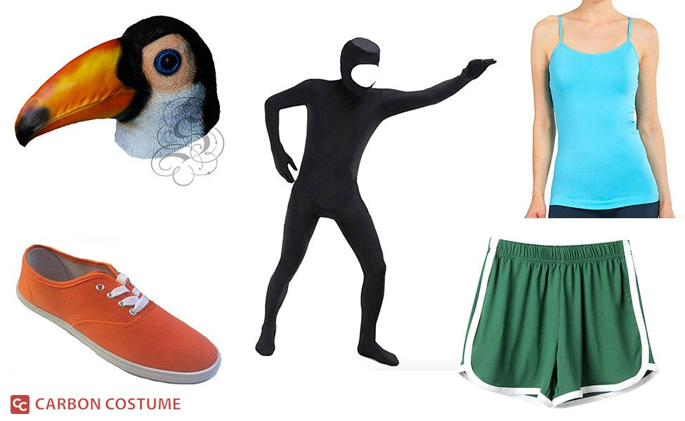 Tuca from Tuca & Bertie Costume