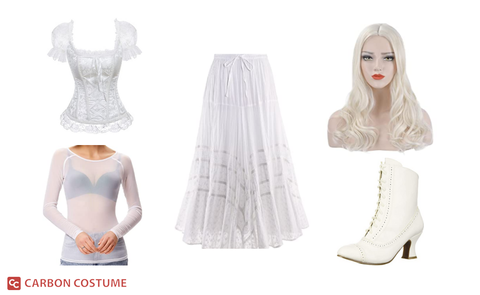 The White Queen from Alice in Wonderland Costume
