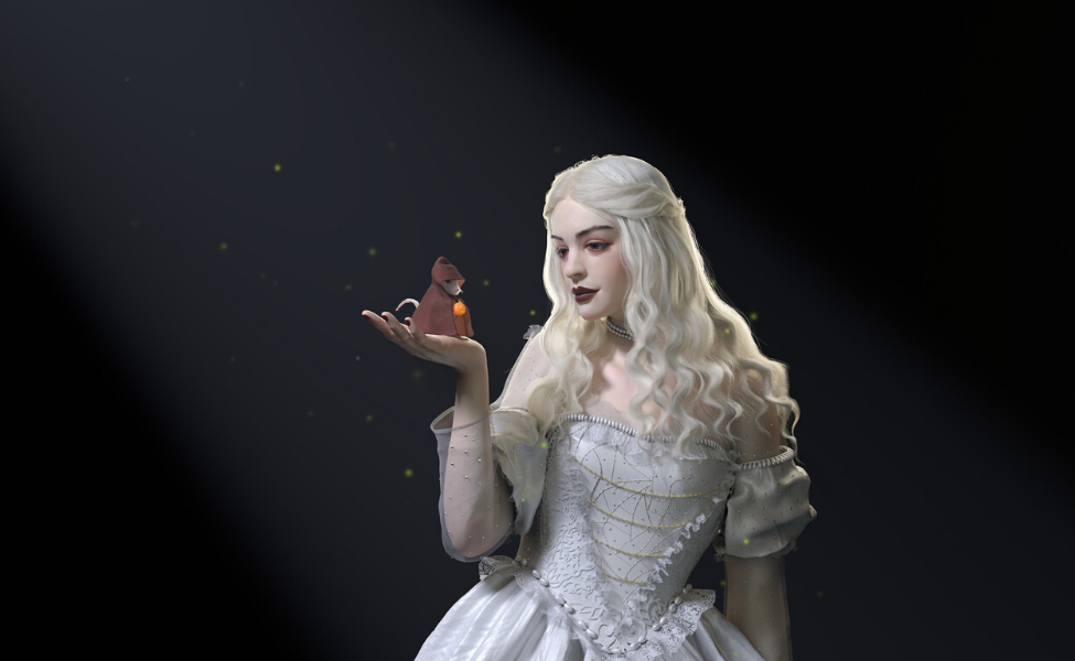 The White Queen from Alice in Wonderland