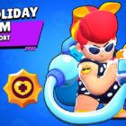 Holiday Pam from Brawl Stars