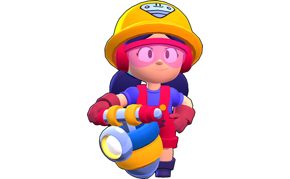 Jackie from Brawl Stars