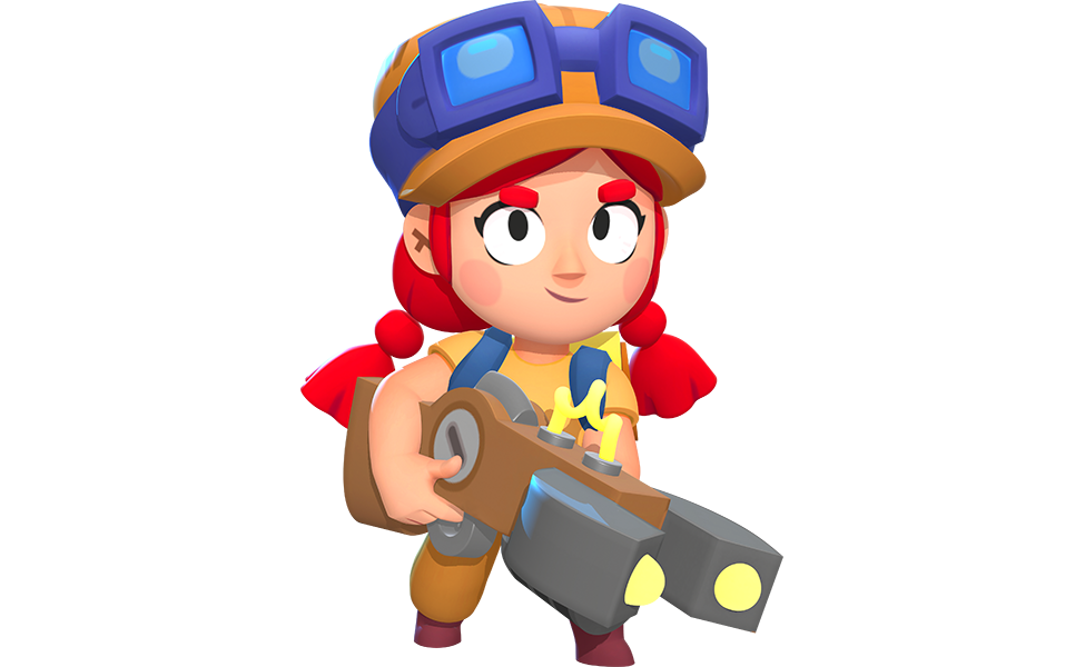 Jessie from Brawl Stars