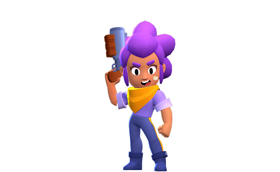 Shelly from Brawl Stars