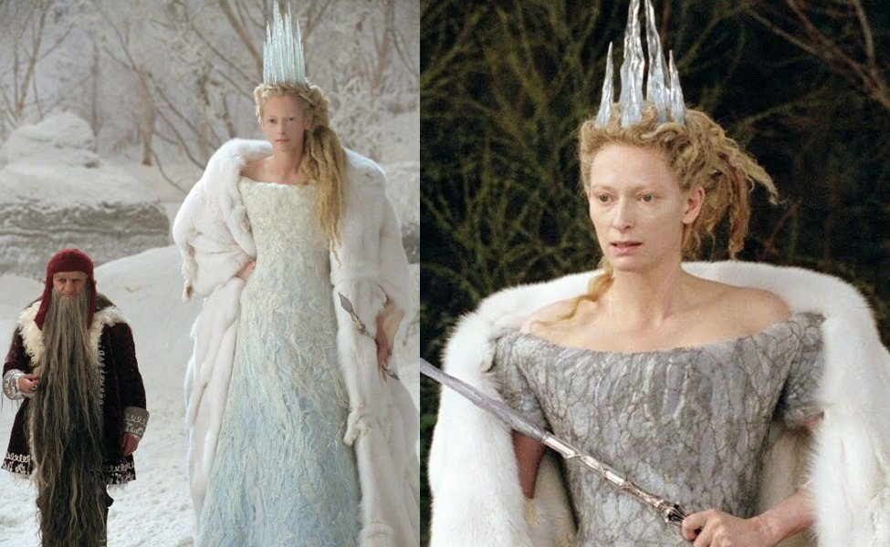 Jadis the White Witch from The Chronicles of Narnia: The Lion, the Witch, and the Wardrobe