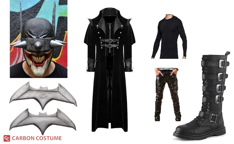 Batman from The Batman Who Laughs Costume