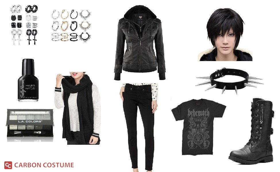 Lisbeth Salander from The Girl with the Dragon Tattoo Costume