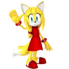 Zooey the Fox from Sonic Boom