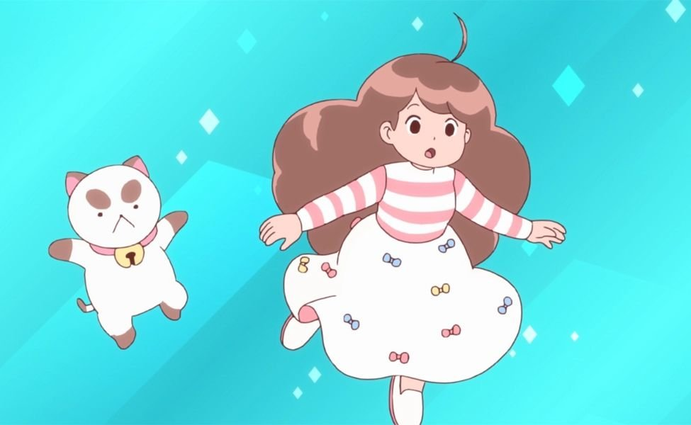 "Bee and PuppyCat from ""Lazy In Space"""