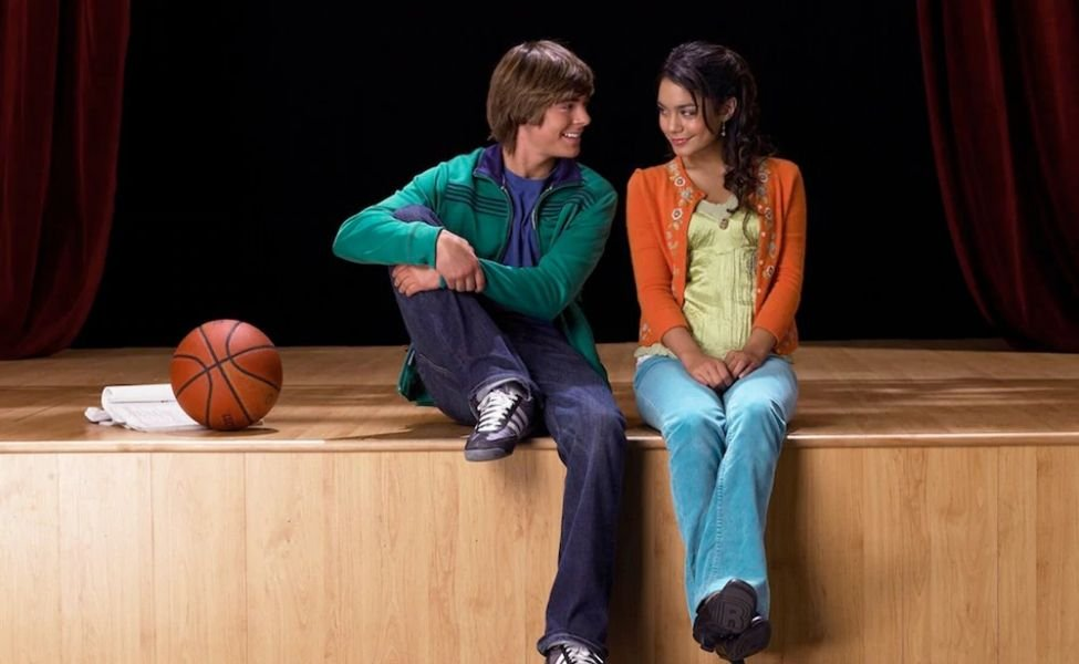 Troy and Gabriella from High School Musical