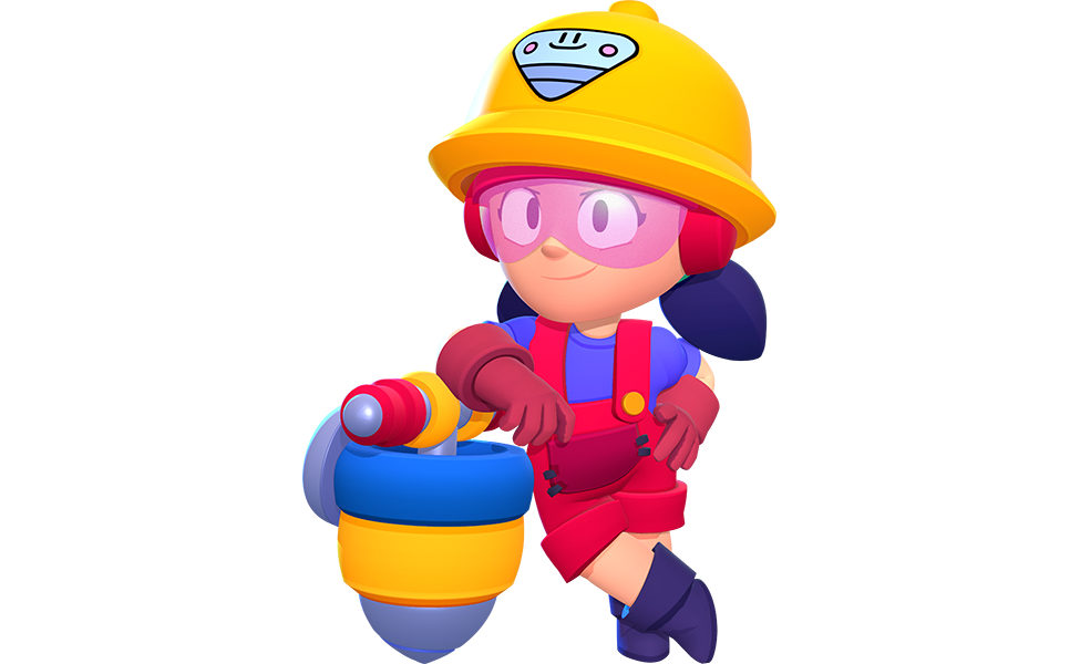 Jacky from Brawl Stars