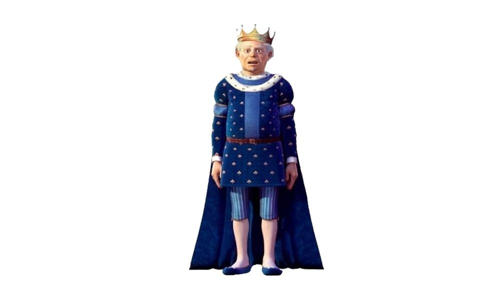 King Harold from Shrek