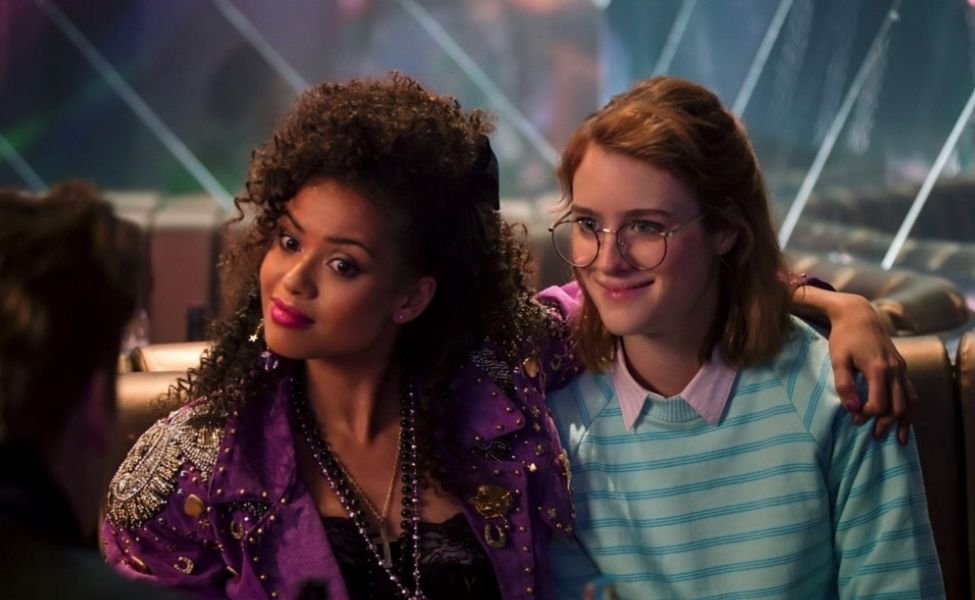 "Yorkie and Kelly from ""San Junipero"""
