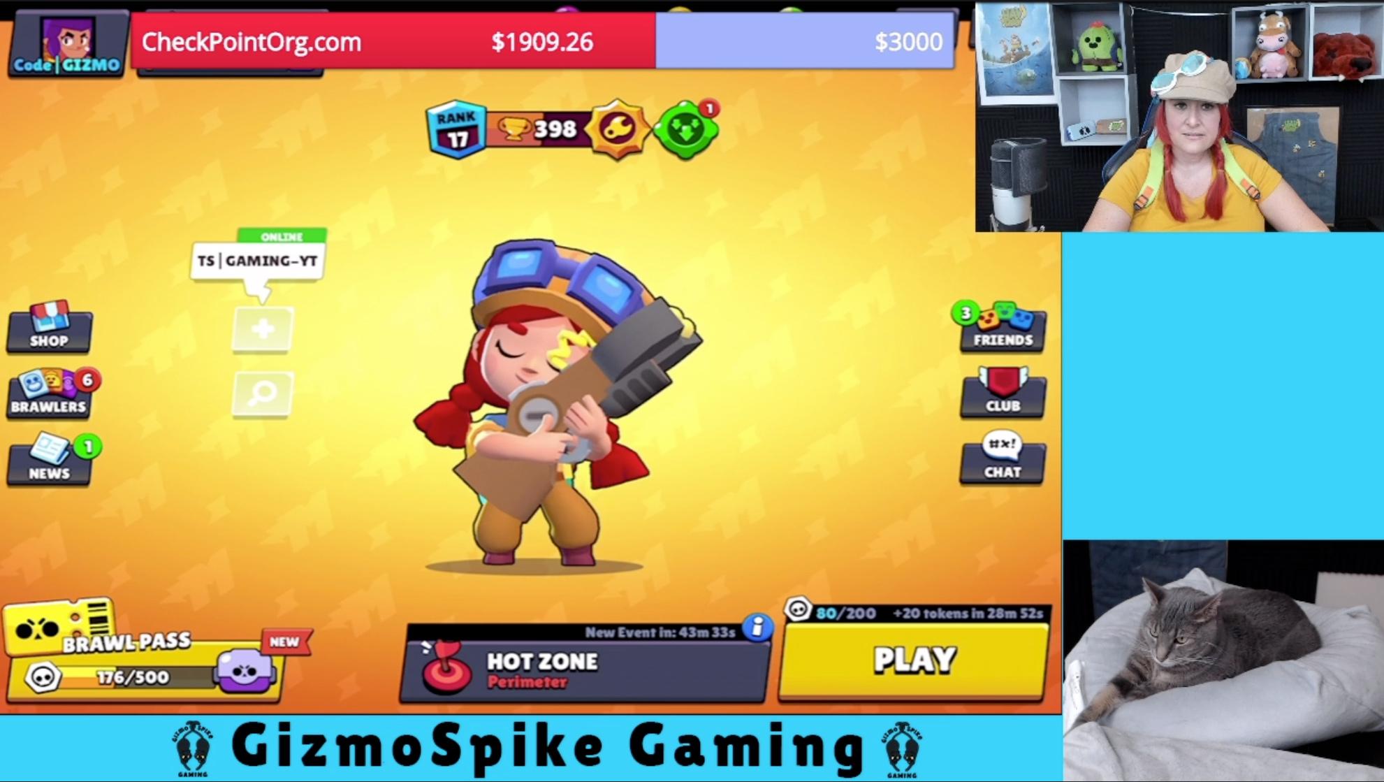 Gizmo Spike Cosplay at Jessie
