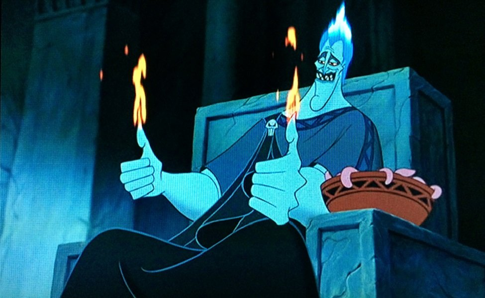 Hades from Disney's Hercules