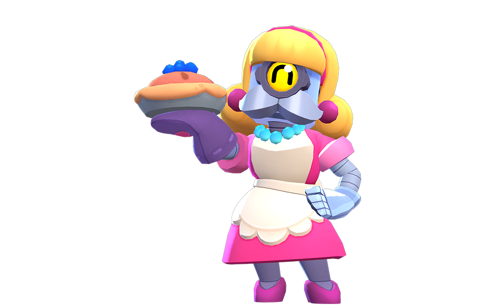 Bakesale Barley from Brawl Stars