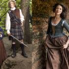 Claire Cosplay from Outlander