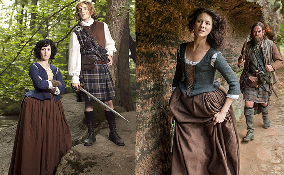 Make Your Own: Claire from Outlander