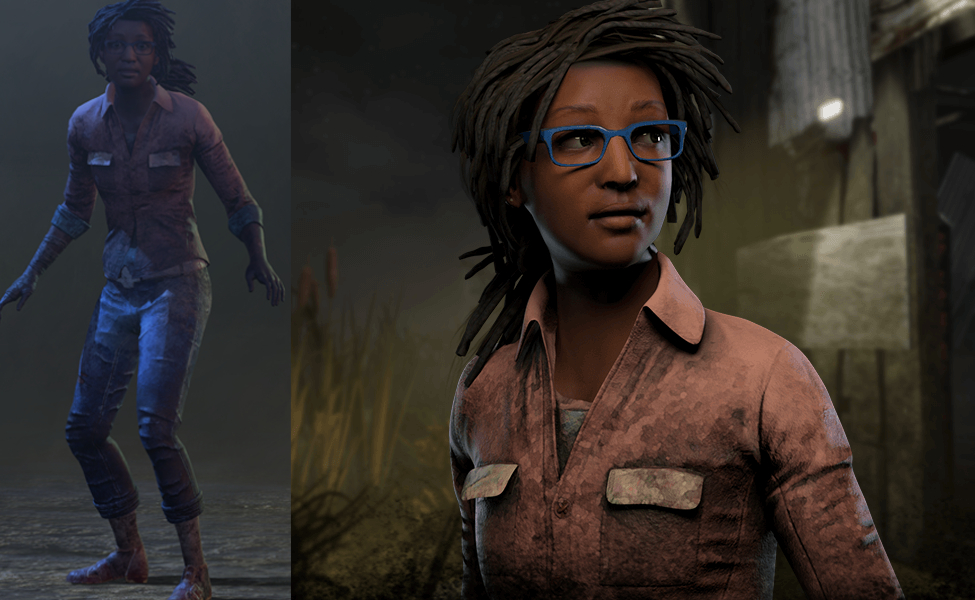 Claudette Morel from Dead by Daylight