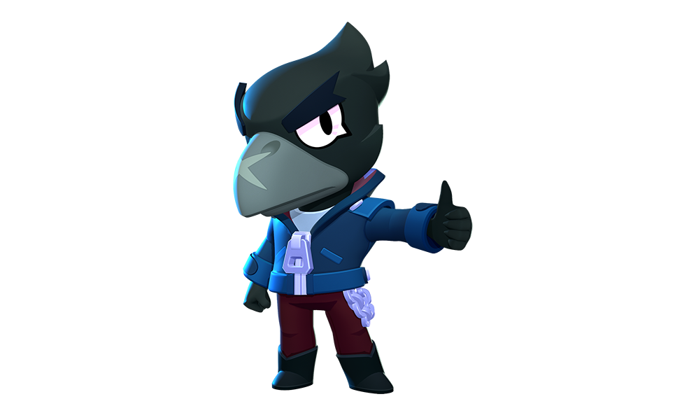 Crow from Brawl Stars