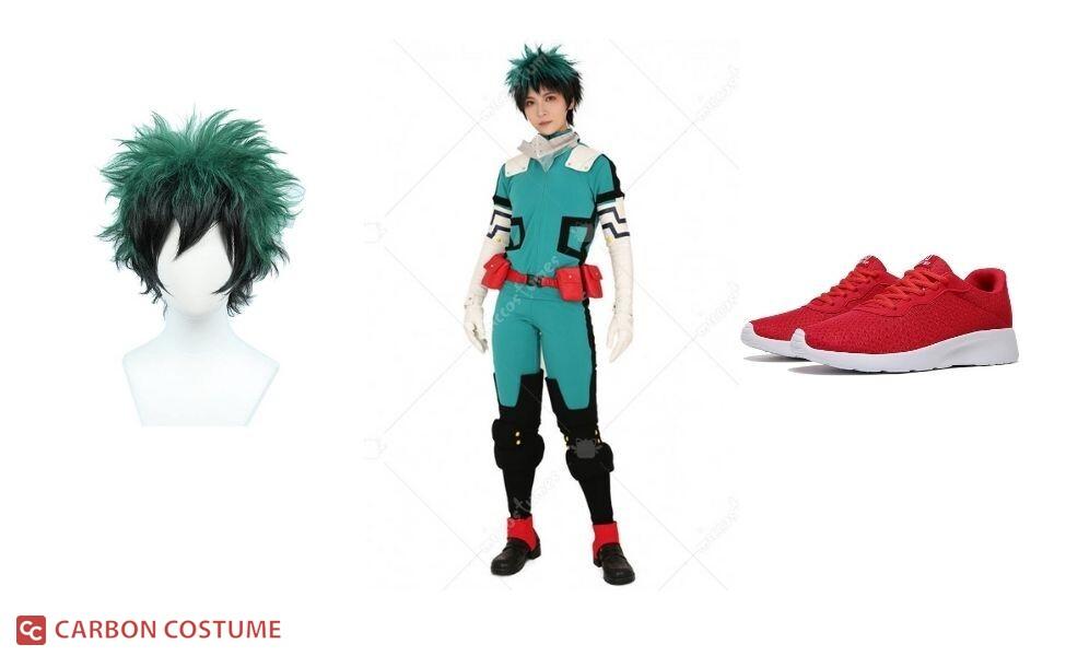 Izuku Midoriya from My Hero Academia Costume