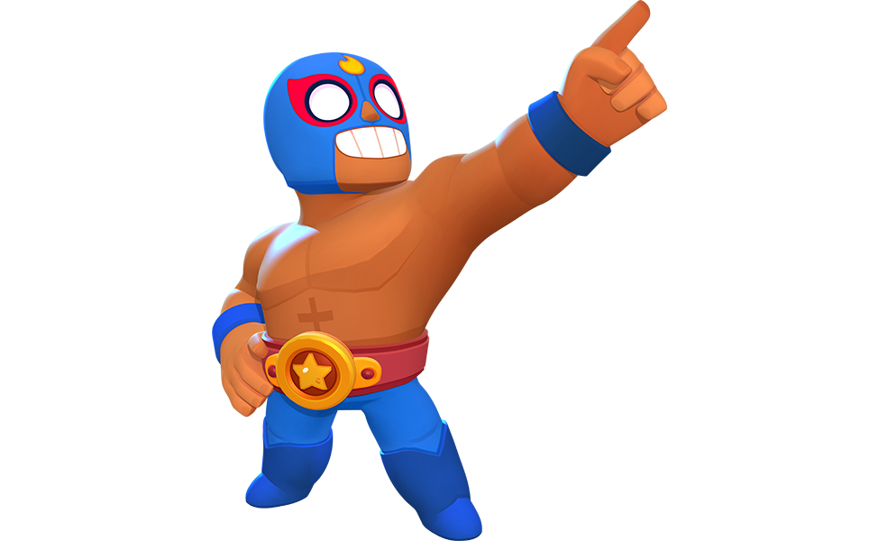 El Primo from Brawl Stars