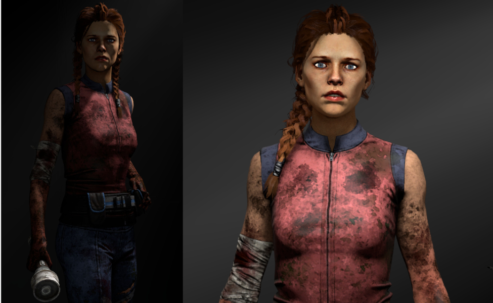 Meg Thomas from Dead by Daylight