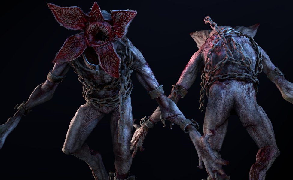 The Demogorgon from Dead by Daylight and Stranger Things